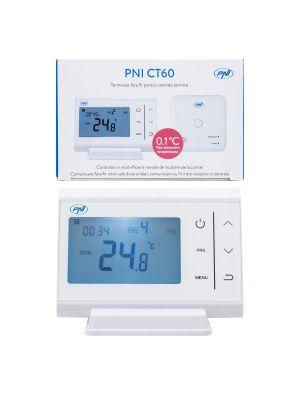 Безжичен термостат PNI CT60 за ТЕЦ