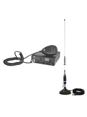 CB PNI ESCORT HP 8000L ASQ радиостанция + CB PNI S75 антена с магнит