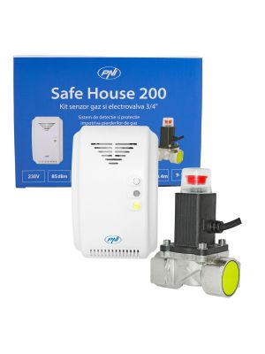 PNI Safe House 200 газов сензор и 3/4 инчов соленоиден вентил