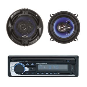 Пакет радио MP3 автомобилен плейър PNI Clementine 8428BT 4x45w + Коаксиални високоговорители за кола PNI HiFi650